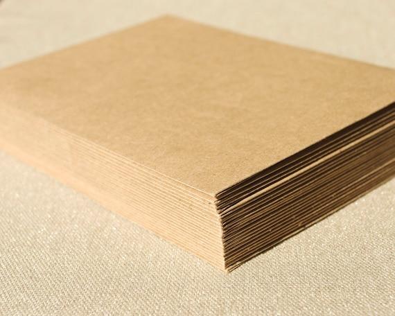 Set of 20 Kraft Envelopes - A2 Size / Brown Bag Envelopes from ...