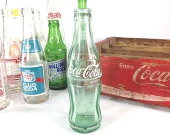 Macon Georgia Antique Vintage Coke Glass Bottle