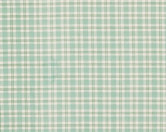 Verna Mosquera, Summer Plaid, Plaid fabric, Rosewater Fabric, One Yard