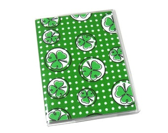 Passport Cover Shamrocks