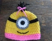 Monster Hat in Sizes 0 - 3 months to 6 - 12 months