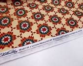 Heart of a Nation Design by Williamsburg, Quilt Cotton, 1 yd Sewing Material