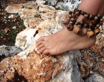 Tribal Seeds Anklet ~