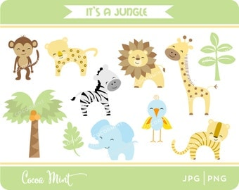 It's a Jungle Clip Art