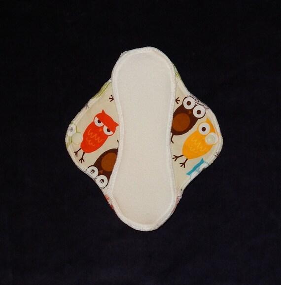 Single Mama Cloth Pad - Owls