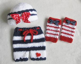Patriotic Newborn Photo Props!