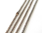 3 Feet Copper Ball Chain, 2.4mm, Necklace Bracelet Unfinished Link, A37-04