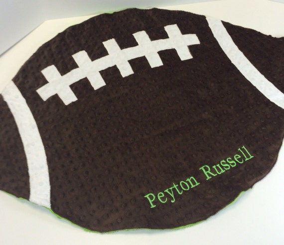 Football Blanket for Babies