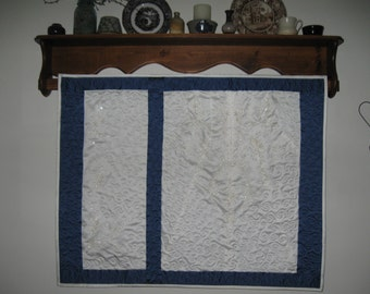 Wedding Dress Quilt - Get your wedding dress out of storage and enjoy it each day.