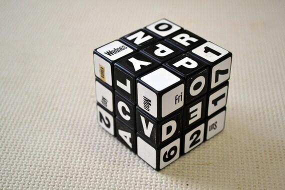 Perpetual Calendar Cube : Ideal rubik s cube perpetual calendar