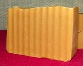 Bay Rum Goats Milk Argan Oil Handmade Cold Process Soap with Shea Butter & Avocado Oil