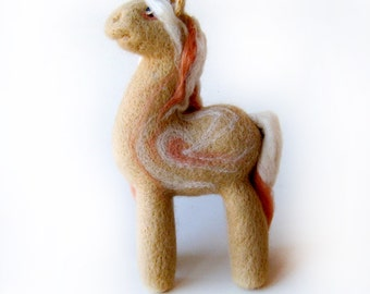 Unicorn - needlefelted sculpture