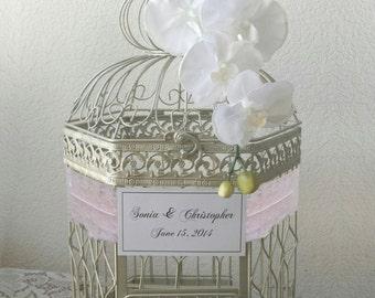 XL Hexagonal Birdcage- Wedding card holder