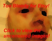Coryn - Skinned Horror Face Mask -