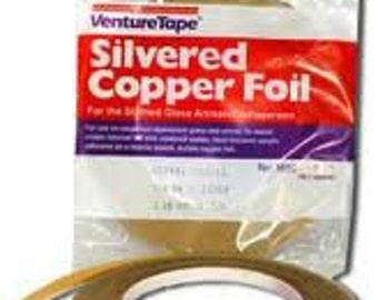 Venture Tape - Silver Foil Tape 1/4in X 36 YD.