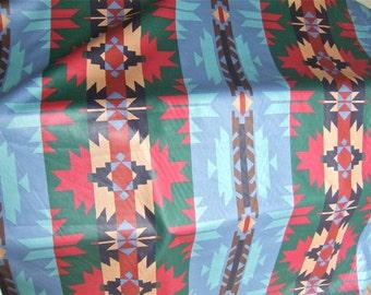 Southwestern drapery fabric