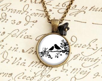 Love Birds - Vintage Necklace