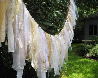 Romantic Wedding, Wedding Decoration, Wedding Ceremony Decor, Rustic Wedding Backdrop, White Banner, Bridal Shower, Summer Wedding Decor