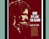 Bob Dylan Poster. 1974 Before The Flood Promo   Large A2  (40X60 cms ) Print