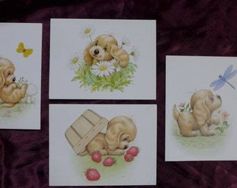 Morehead Puppy Toes Notecards