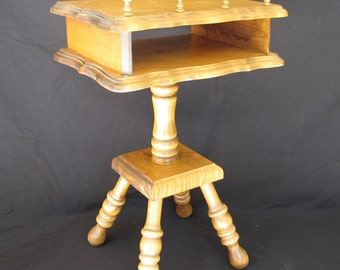 Vintage Phone Table - Sheryn's Maple of California