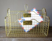 Wire In and Out Box Letter Sorter