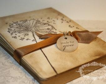 Wish Dandelion Vintage Notecards - Dandelions - Set of 5