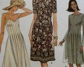 UNCUT VOGUE 9408, 1996 era sundress with variations, Misses size 8-10-12