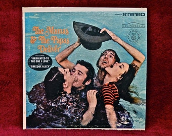 The MAMAS and PAPAS - The Mamas & Papas Deliver - 1967 Vintage Vinyl Record Album