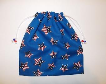 Gymnast GRIP Bag custom USA GYMNASTICS Bags Gymnast ~match to your team leotard  patriotic drawstring Goody Bag - birthday present or gift