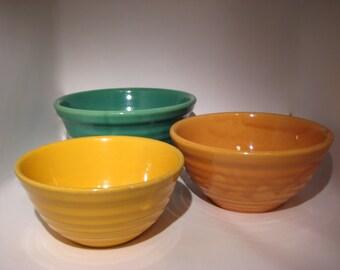Set of 3 Nesting Bauer Bowls