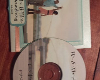 50 Personalized CD Wedding Favors