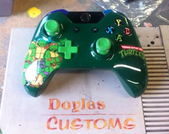 Tmnt theme custom controller made to order