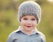 Homespun Hat PATTERN, sized for Newborns to Adult, Unigender, One Skein Knitting, Simple Hats, Soft, Textured Yarn, Men, Women, Children