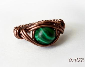 Jewelry tutorial. Wire wrap Tutorial  Eye Ring