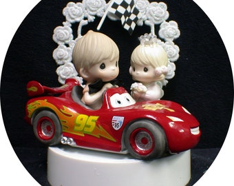 race car driver wedding cake topper car wedding cake topper policeman w by yourcaketopper 18952
