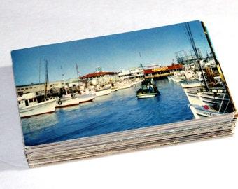100 Vintage California Chrome Postcards Blank - Wedding Guestbook