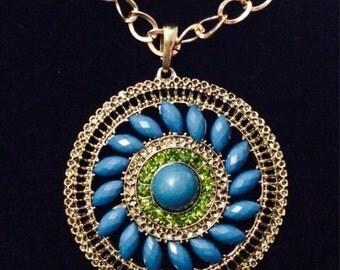 Lime medallion