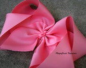 Set of 6 - XL 6 Inch Boutique Bow  2.25 Inch Ribbon