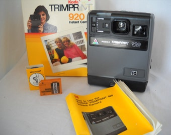 Vintage Kodak Camera Trimprint 920 Instant Camera