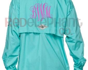 Monogram fishing shirt etsy for Custom embroidered columbia fishing shirts
