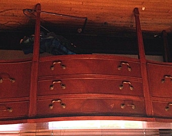 Vintage Butler Server, Antique Furniture, Dining Room Piece Reduced Price