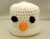 Crochet Frosty the Snowman Hat