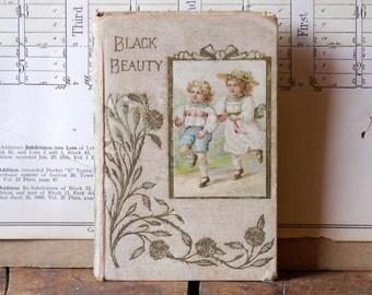 Vintage Children's Book - Black Beauty - Published in 1900