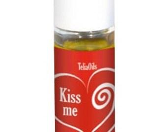"""Kiss Me """" Premium Perfume Oil for Women, 1/3 Oz (10 Ml) By Teliaoils"""
