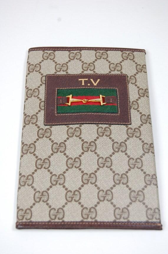 RARE Gucci TV Guide Book Cover Vintage