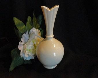 Lenox China Bud Vase Off White