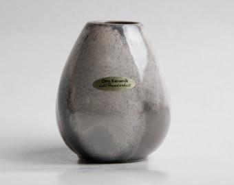 Vintage Grey German Vase - Otto Keramik 60s  (2)