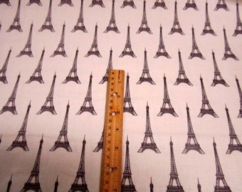 I Dream of Paris Eiffel Towers cotton quilting fabric by Windham -  eiffel tower