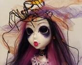 OOAK Custom Art Doll Hallows Eve. RESERVED for R.